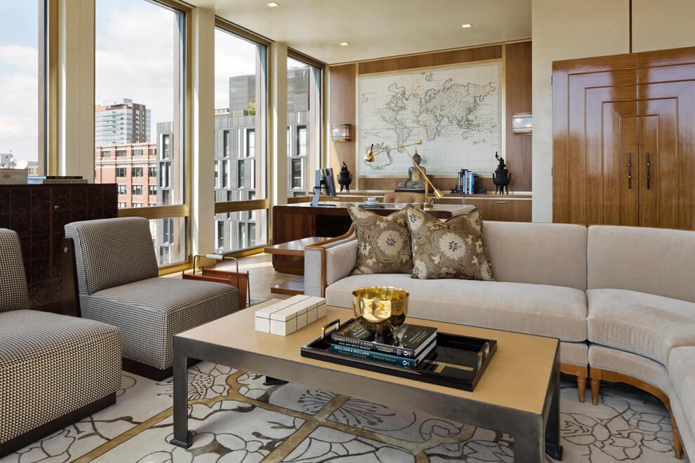 manhattan style interior design