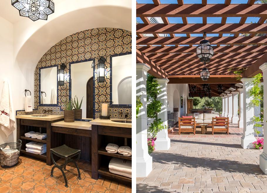 spanish courtyard ideas