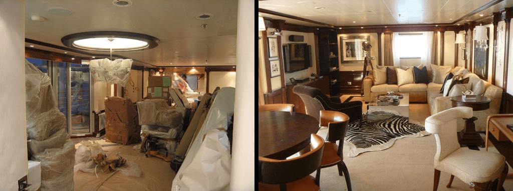 cruise ship interior design companies