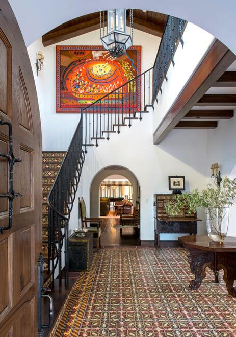 spanish house interior