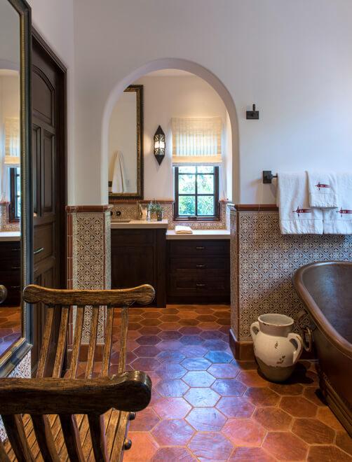 spanish style bathroom ideas