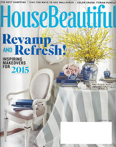 House Beautiful February 2015