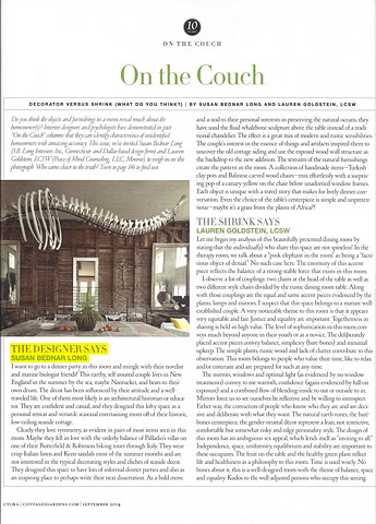 Connecticut Cottages and Gardens September 2014