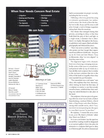Greenwich Magazine March 2011