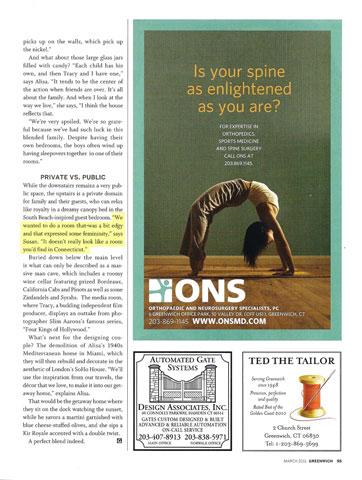 Greenwich Magazine March 2011