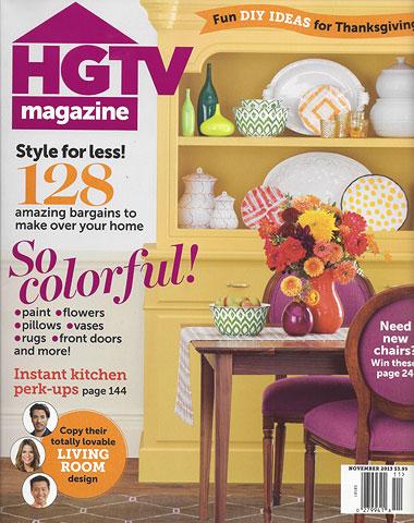 HGTV Magazine November 2013