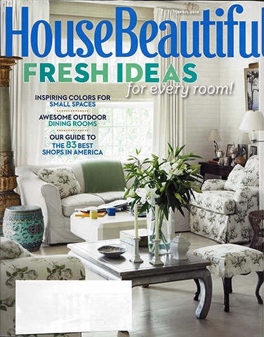 House Beautiful April 2014