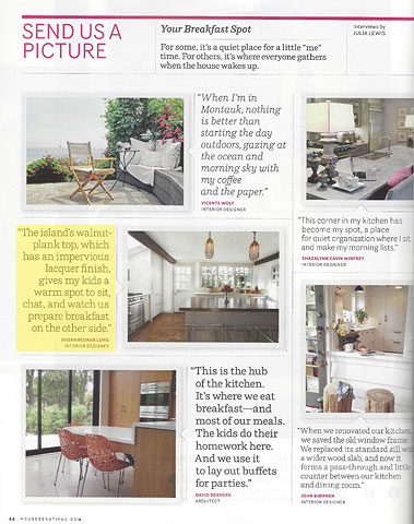 House Beautiful July/August 2013