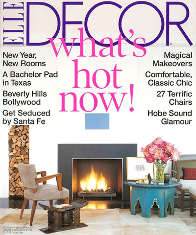 Elle Decor January / February 2007