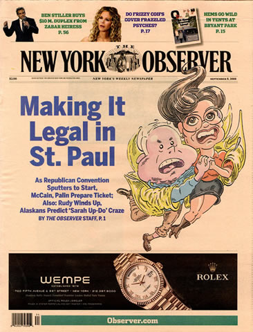 New York Observer September 2008