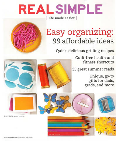 Real Simple June 2008