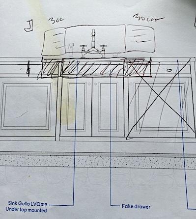 limestone sink provence poiriers