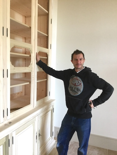 custom french style cabinetry