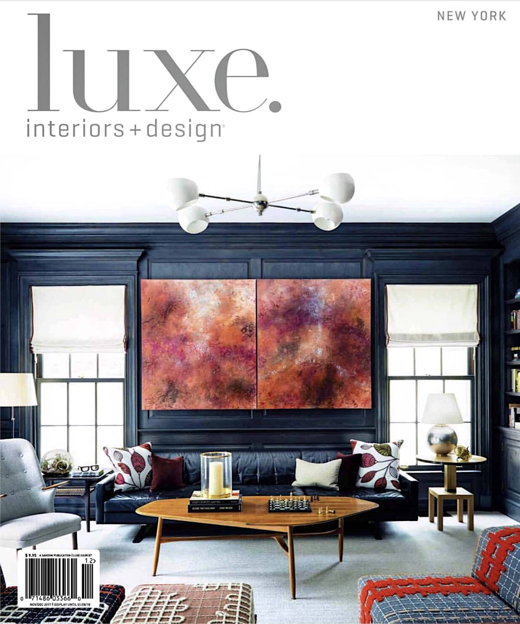 Luxe Interiors + Design New York Nov/Dec 2017