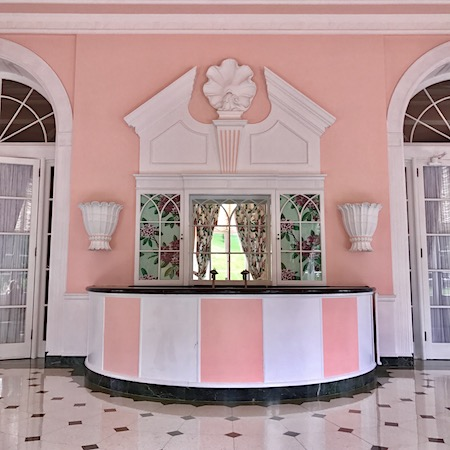 greenbrier resort interior design