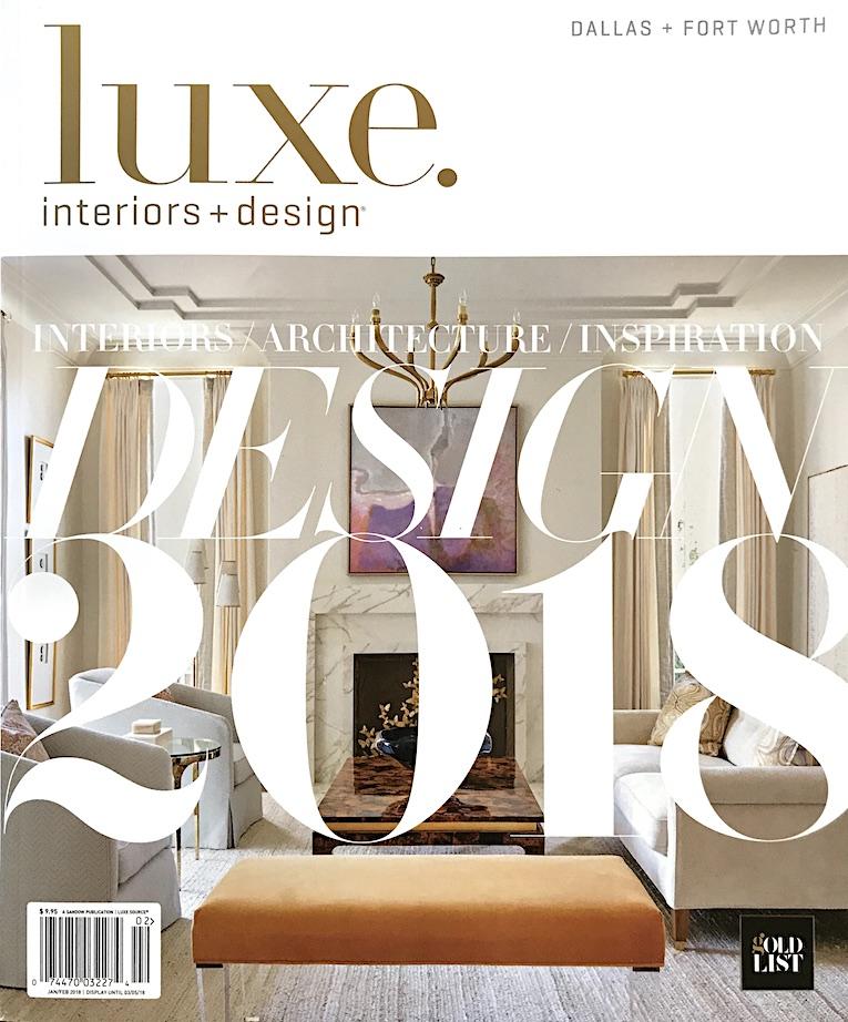 Luxe Interiors + Design Jan/Feb 2018
