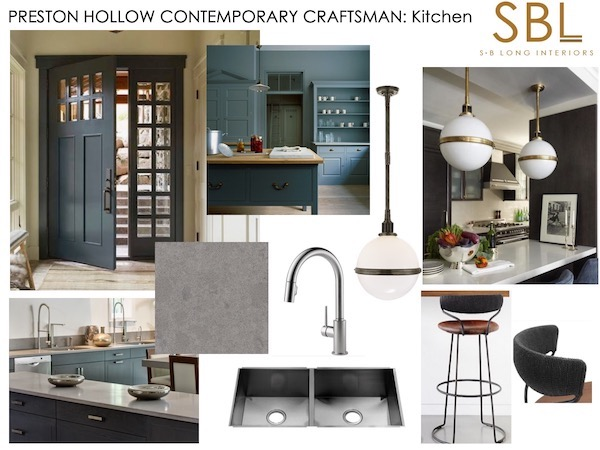 S.B Long kitchen mood board