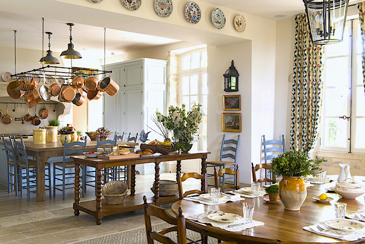 french provence style kitchen