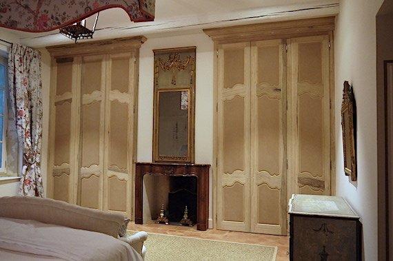 french provencal wardrobe Cabinets installed