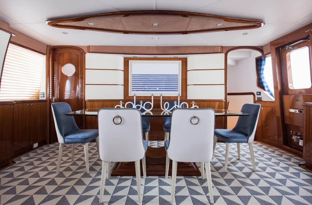 Modern Yacht Interior Designer | S·B Long Interiors