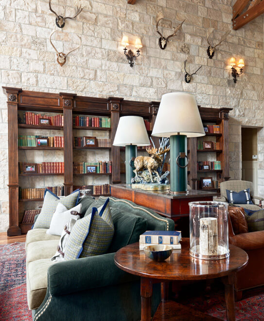mountain lodge style interior design