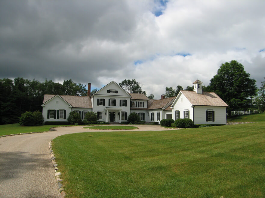 types of country homes