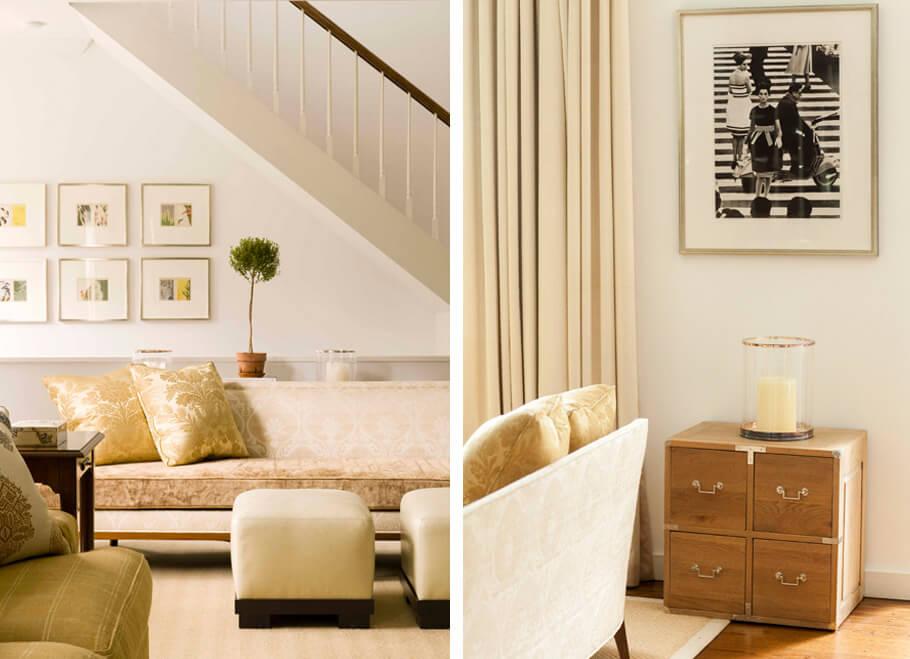 neutral living room design
