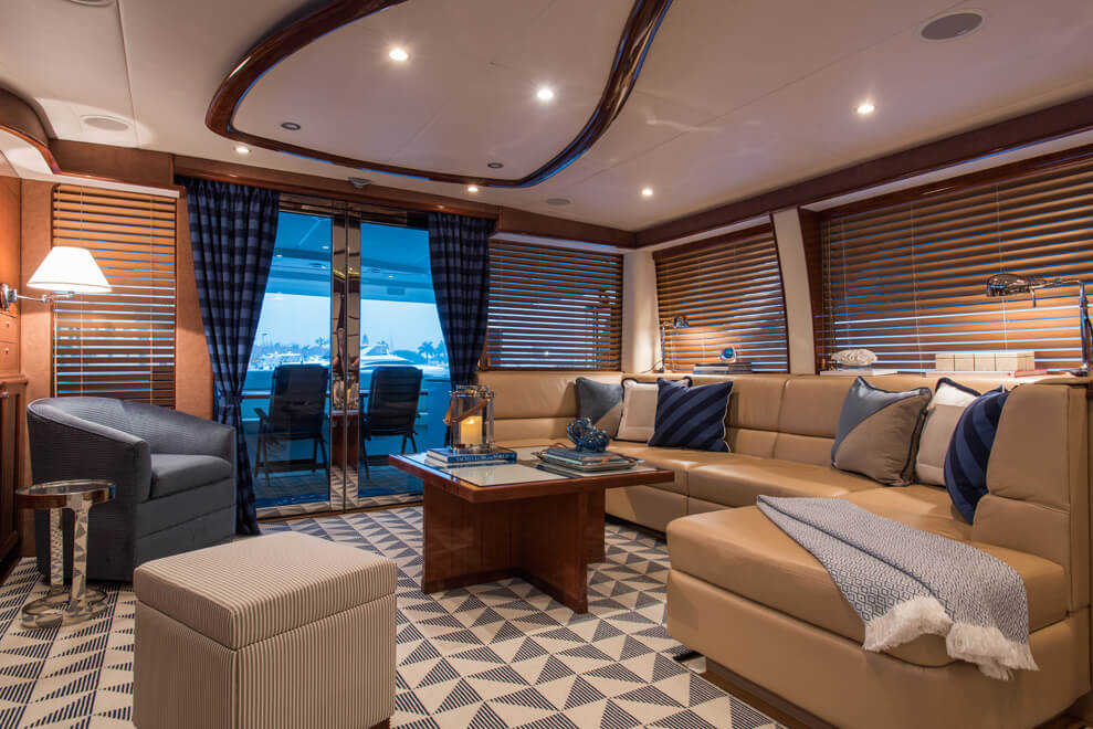interior design boats yachts