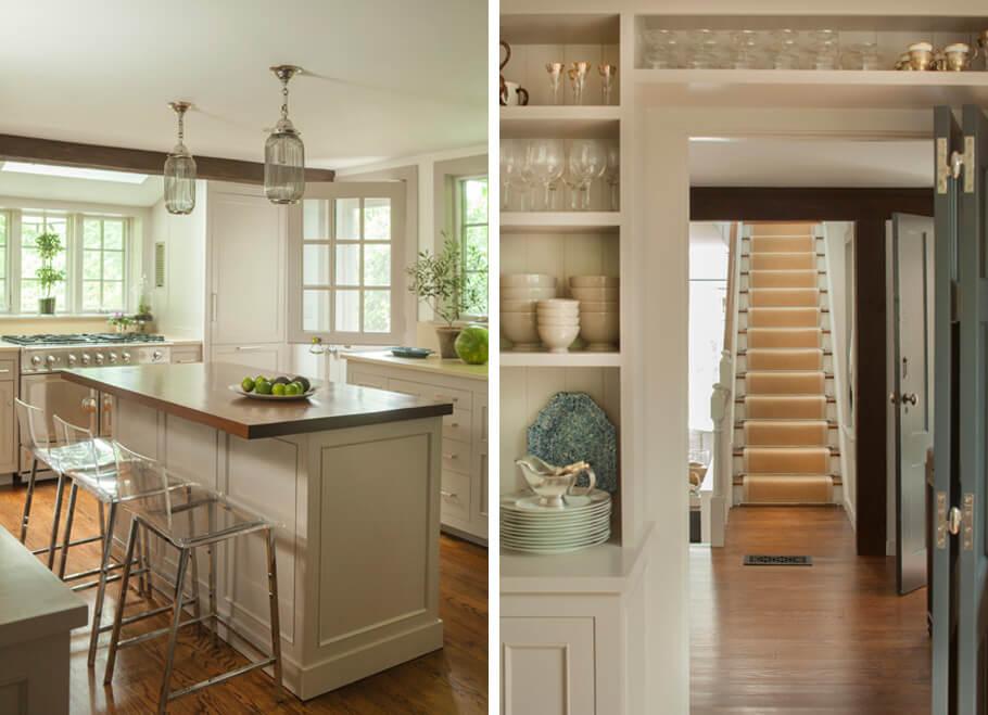 gray kitchen paint