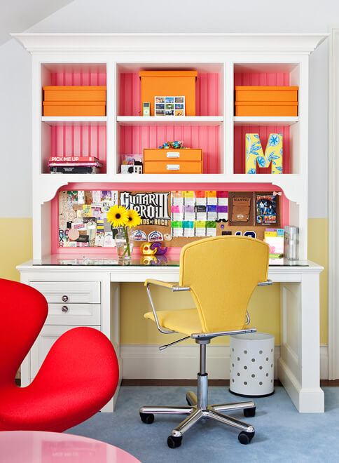 bright colored room designs
