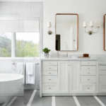 S.B. Long Interiors Master Bath