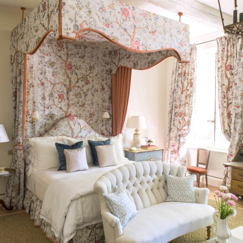 Before & After:  Designing a Romantic Guest Suite in Provence