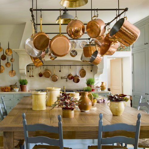 Design Solutions: Le Mas des Poiriers Kitchen