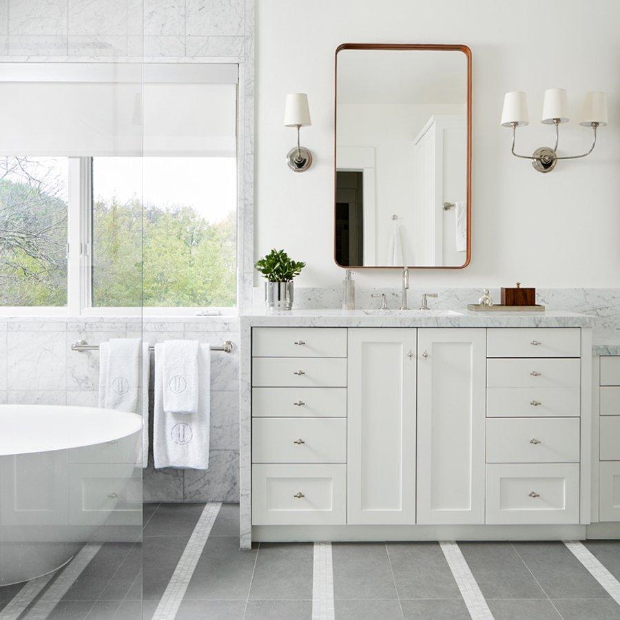 S.B. Long Interiors Mastering the Master Bath