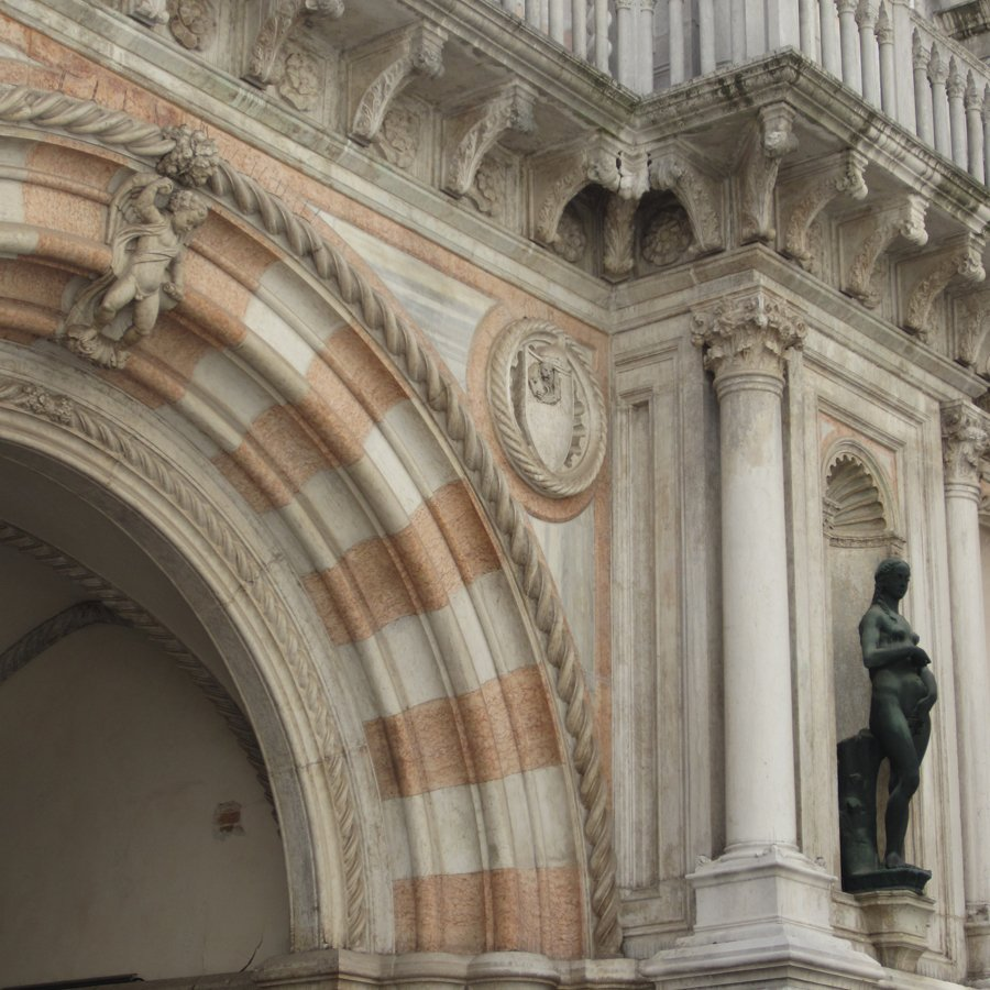 S.B. Long Interiors Translating Venetian Stripes Blog