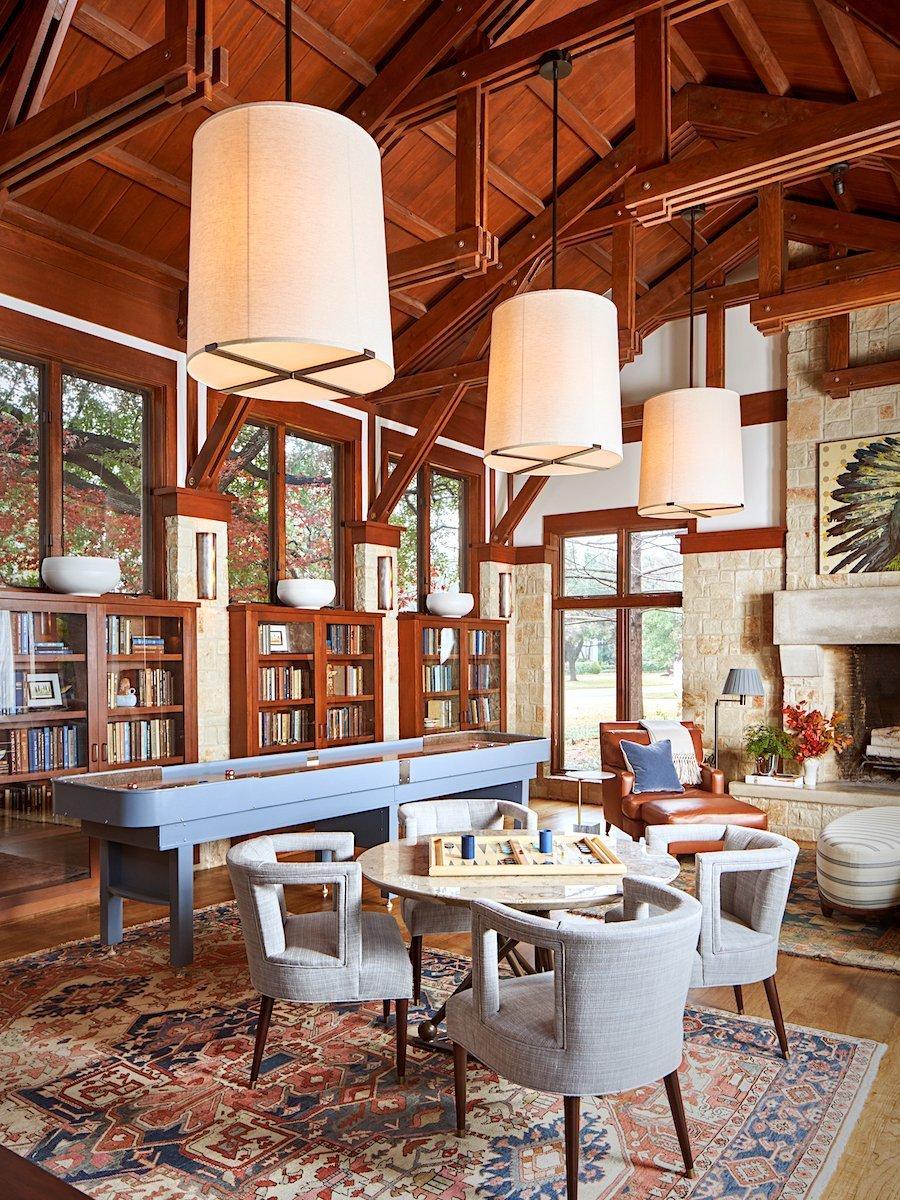 s b long interiors preston hollow craftsman