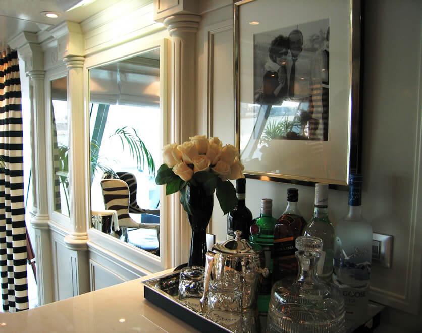 cruise ship interior design department