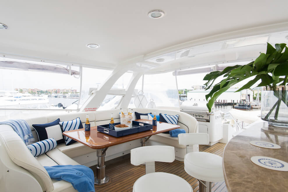small yacht interior design