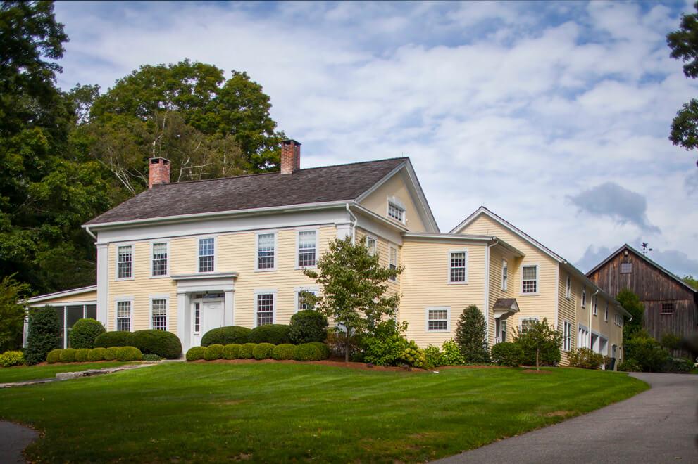Farmhouse in Washington CT