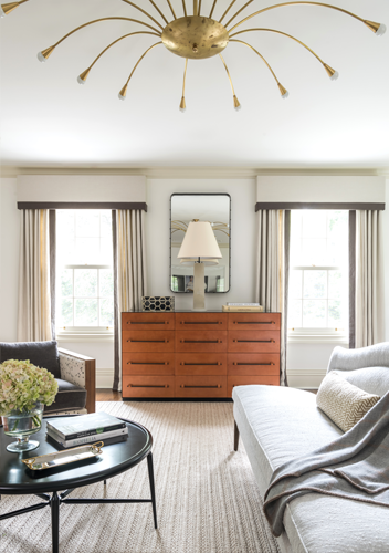 Modern traditional interior design