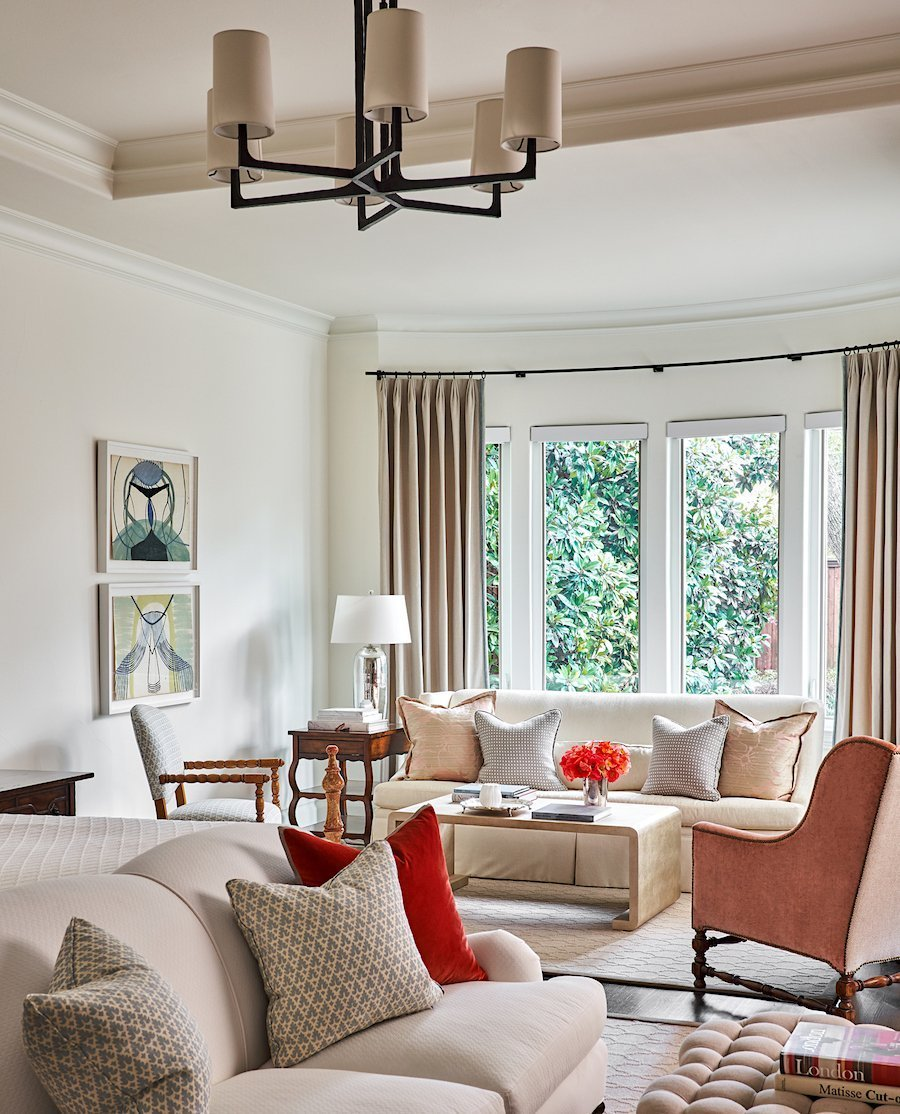 modern traditional interior design tx