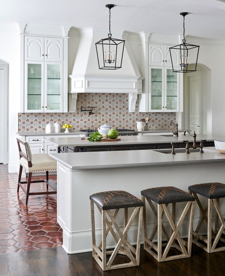 Modern Traditional Spanish Home Interior Design | S·B Long ...