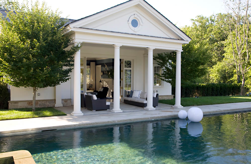 unique pool house designs