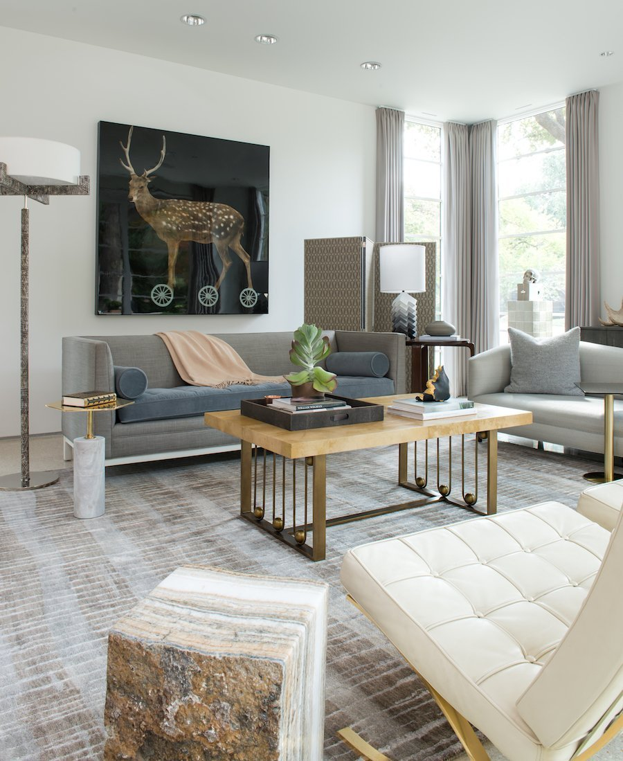 eclectic interior design dallas
