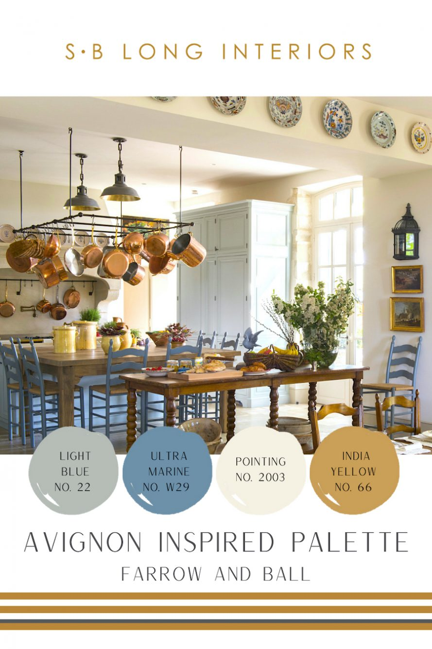 farrow and ball color palette