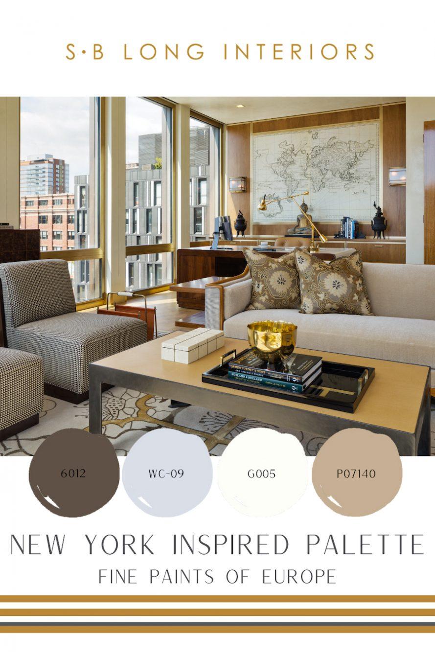 new york color palette