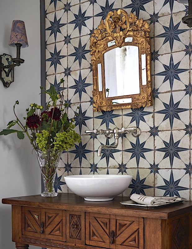 spanish bathroom ideas