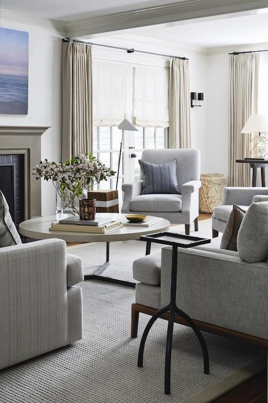 high-end living room design
